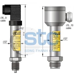 Cảm biến áp suất Aplisens PCE-28.Smart / PCE-28