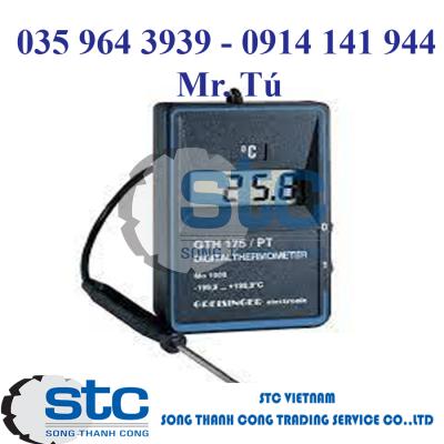 GTH175PT-E – Thiết bị đo nhiệt độ cầm tay – Greisinger
