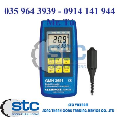 GMH 3695 – Thiết bị đo khí Oxy – Greisinger